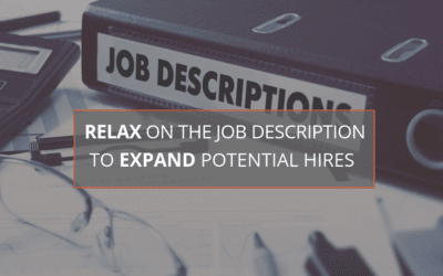 Relax on the Job Description to Expand Potential Hires